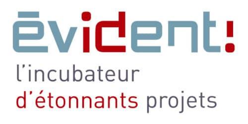 Logo de l'incubateur Evident