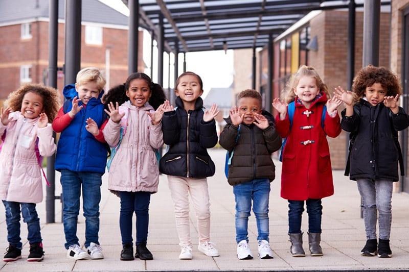 Enfants des écoles de Roubaix