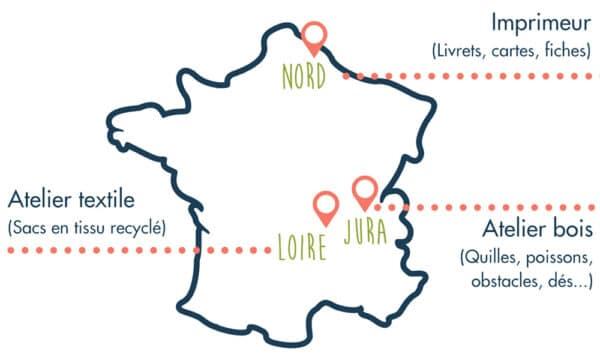 Jeux produits en France