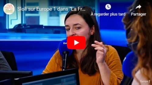 Sloli sur Europe 1