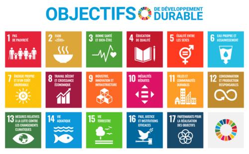 Les 17 ODD des Nations Unies