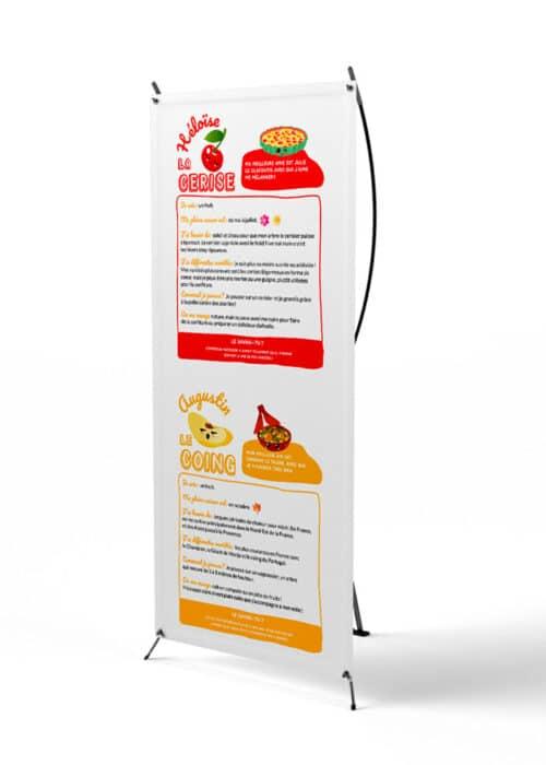 Exposition sur les fruits et légumes