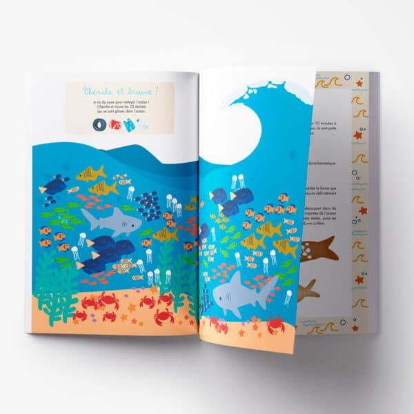 Carnet de créativité sur l'océan