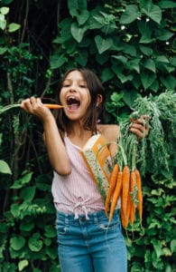 Jeu qui donne envie de manger des légumes