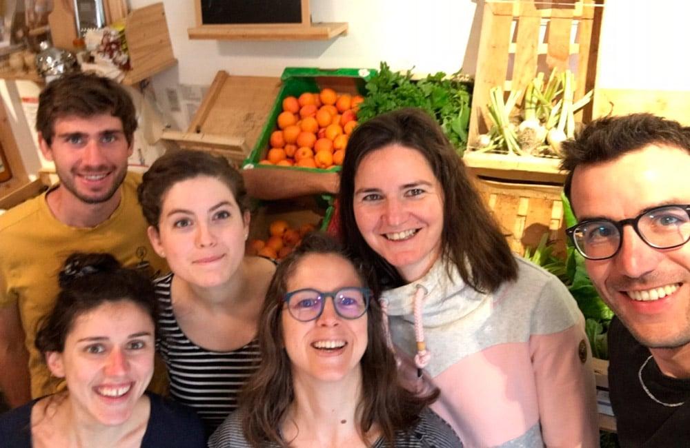 L'équipe de La Bonne Pioche à Grenoble