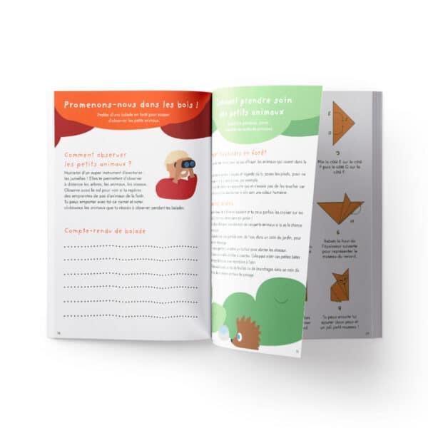 Cahier de vacances pour enfant