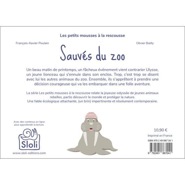 Résumé du livre Sauvés du Zoo