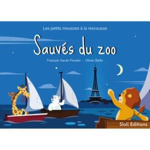 Couverture du livre Sauvés du zoo